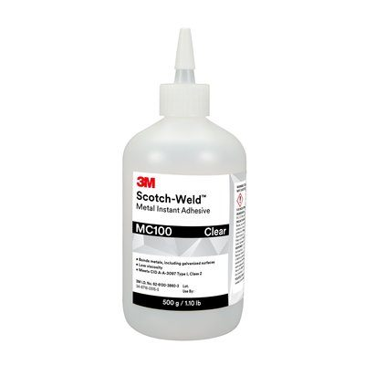 3M™ Scotch-Weld™ Metal Instant Adhesive MC100