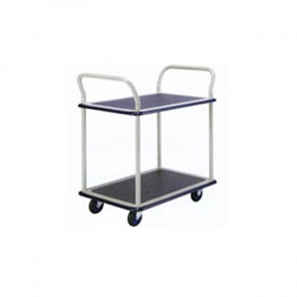 Double Deck Dual Handle Trolley