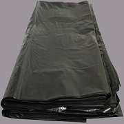 Industrial black garbage bags 01
