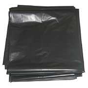 Industrial garbage bags black