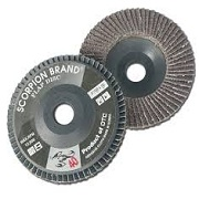 FLAP DISC BLACK SCORPION BRAND (Made in Korea)